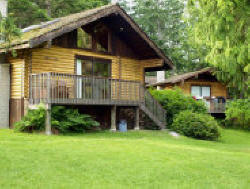 Accommodation in our cozy cabins at Cusheon Lake Resort on Salt Spring Island BC for your Southern Gulf Islands vacation. We are located on a very quiet peninsula jutting out into Cusheon Lake with fishing right at your door.
