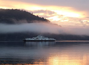 Fulford Ferry, Salt Spring Island, BC